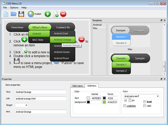 <u> Joomla S5 Dropdown Menu Download</u> gui screenshot