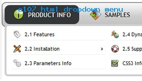 Joomla Coloring Dropdown Menu Demo #913  Rate It!
