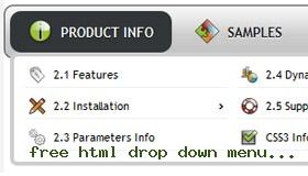 free html templates with drop down menu - yii framework css menu demo 54 rate it