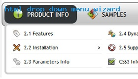 Rollover dropdown menu table demo 360 rate it blueprint css horizontal navigation malvernweather Gallery