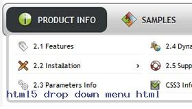 Dropdown Menu On Footer Toolbar Demo #993  Rate It!
