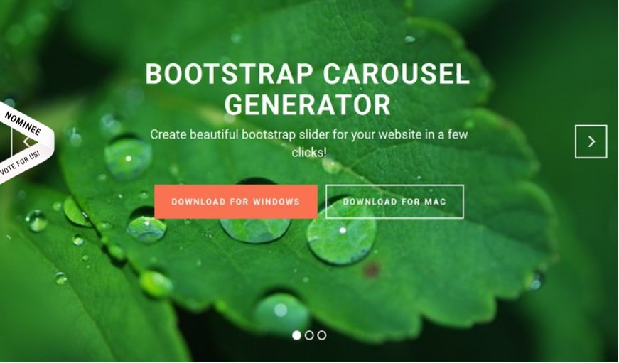 Bootstrap Carousel Examples