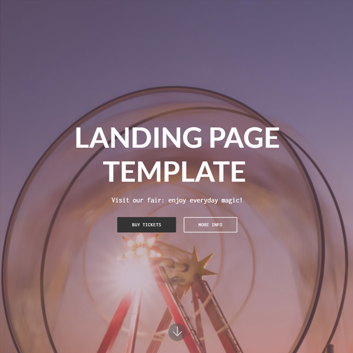 CSS3 Bootstrap Landing Templates