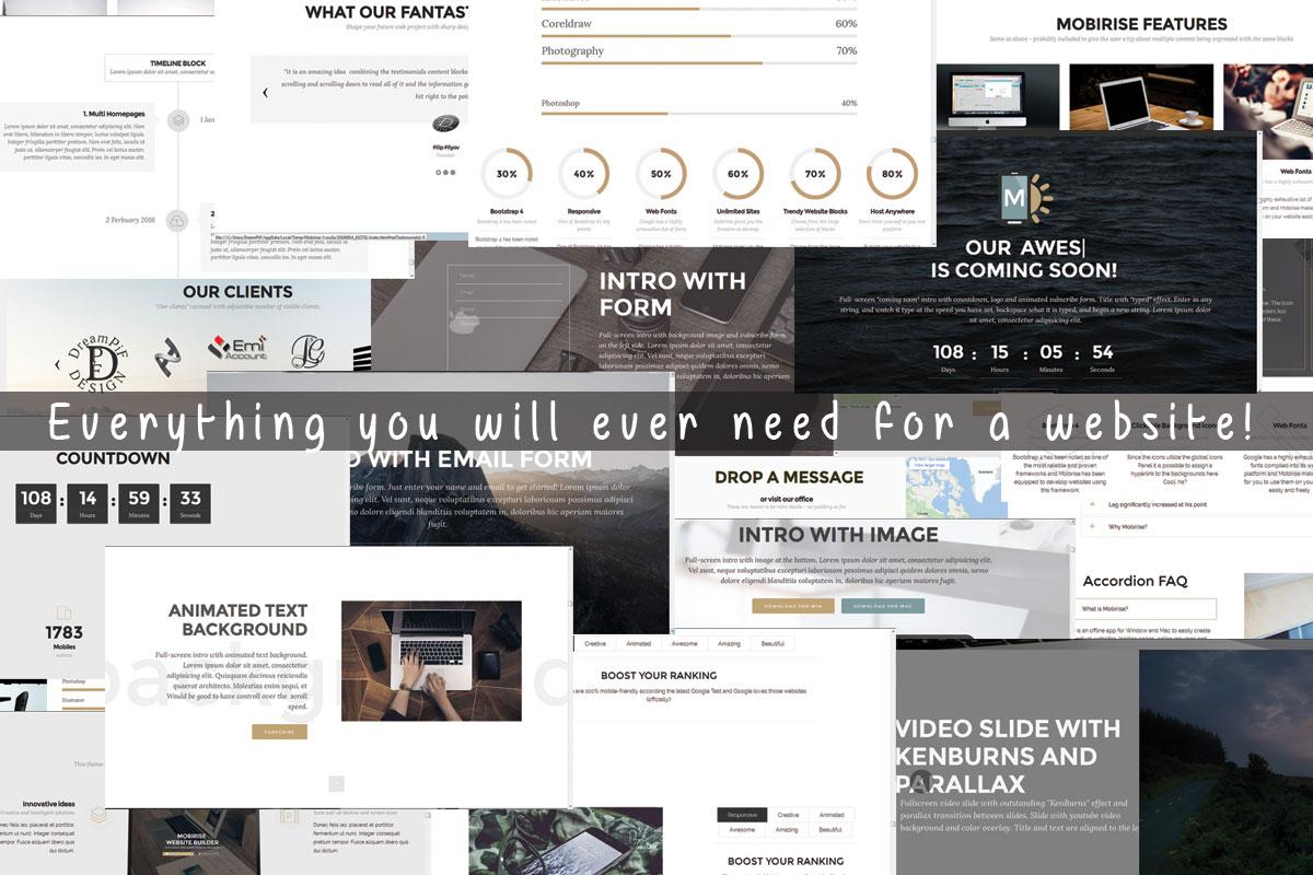 Mobile Responsive Web Page Creator
