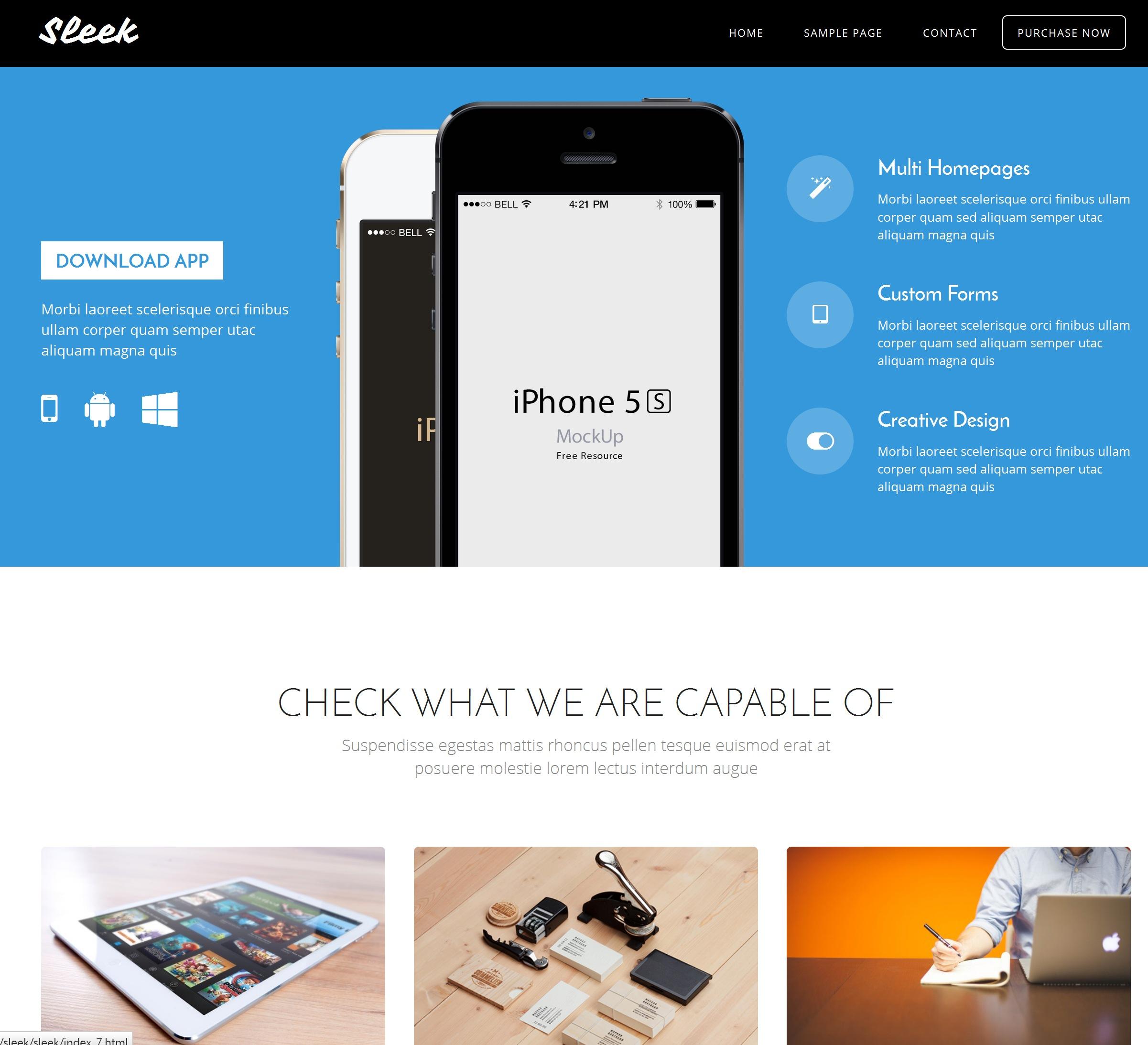 CSS3 Bootstrap News Theme