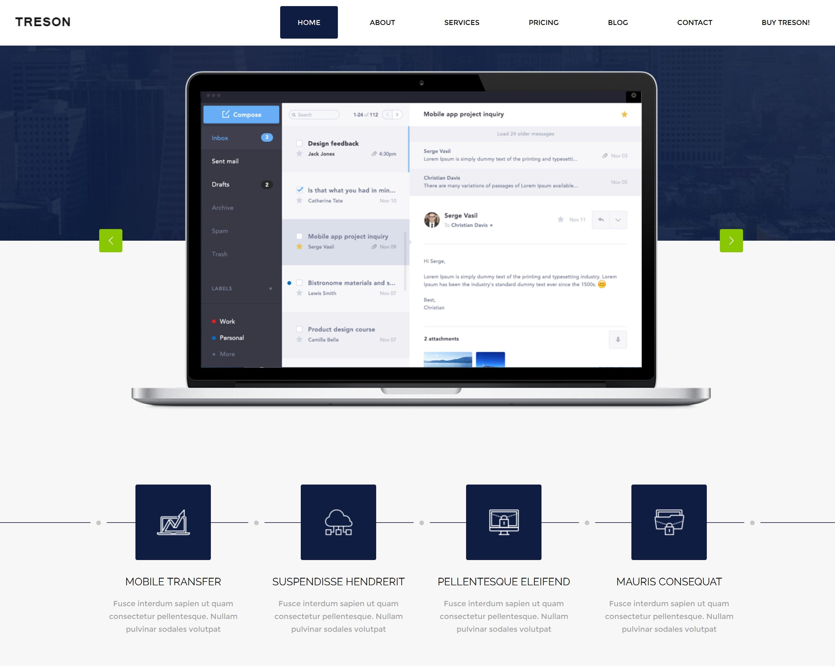 CSS3 Bootstrap Design Theme