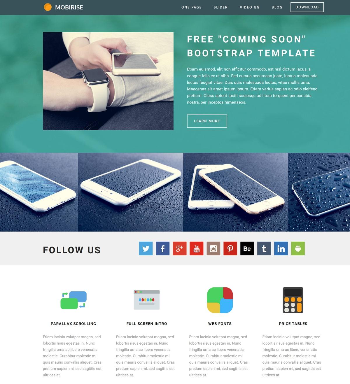 Bootstrap Site Maker