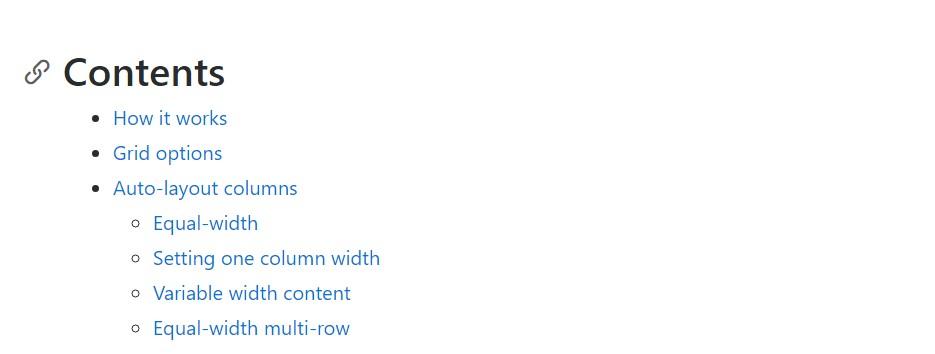 Bootstrap columns  main  records