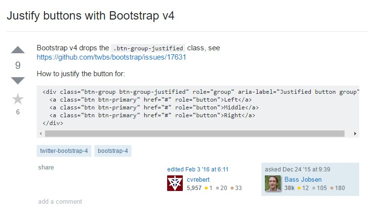 Sustain buttons  by Bootstrap v4