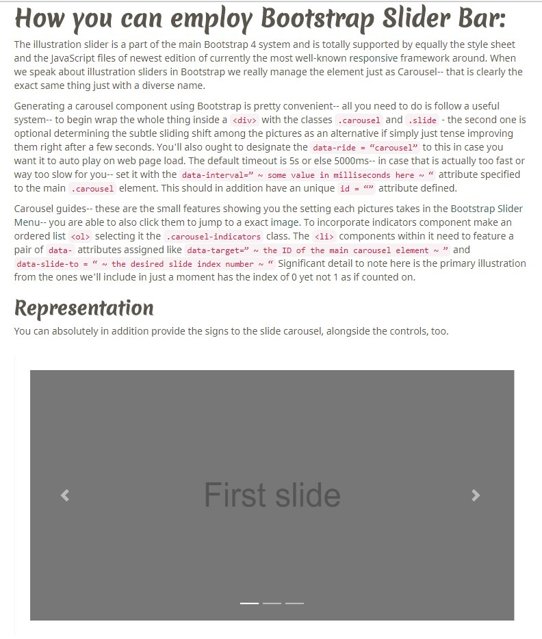 Angular Bootstrap Slider