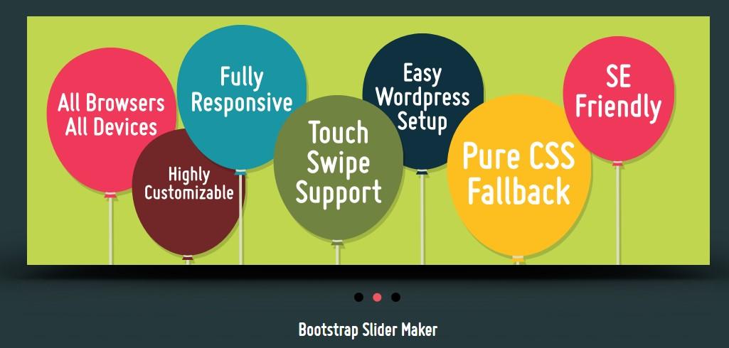 Bootstrap Slider Button